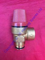 Ariston MicroGenus 23 & 27 MFFI Boiler Pressure Relief Safety Valve 3 Bar 573172