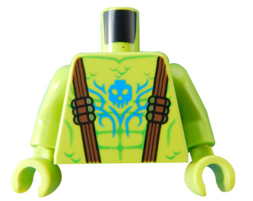 lime Hände Arme Tattoo Oberkörper Neu 973pb3442c01 Neu Lego Torso in limette