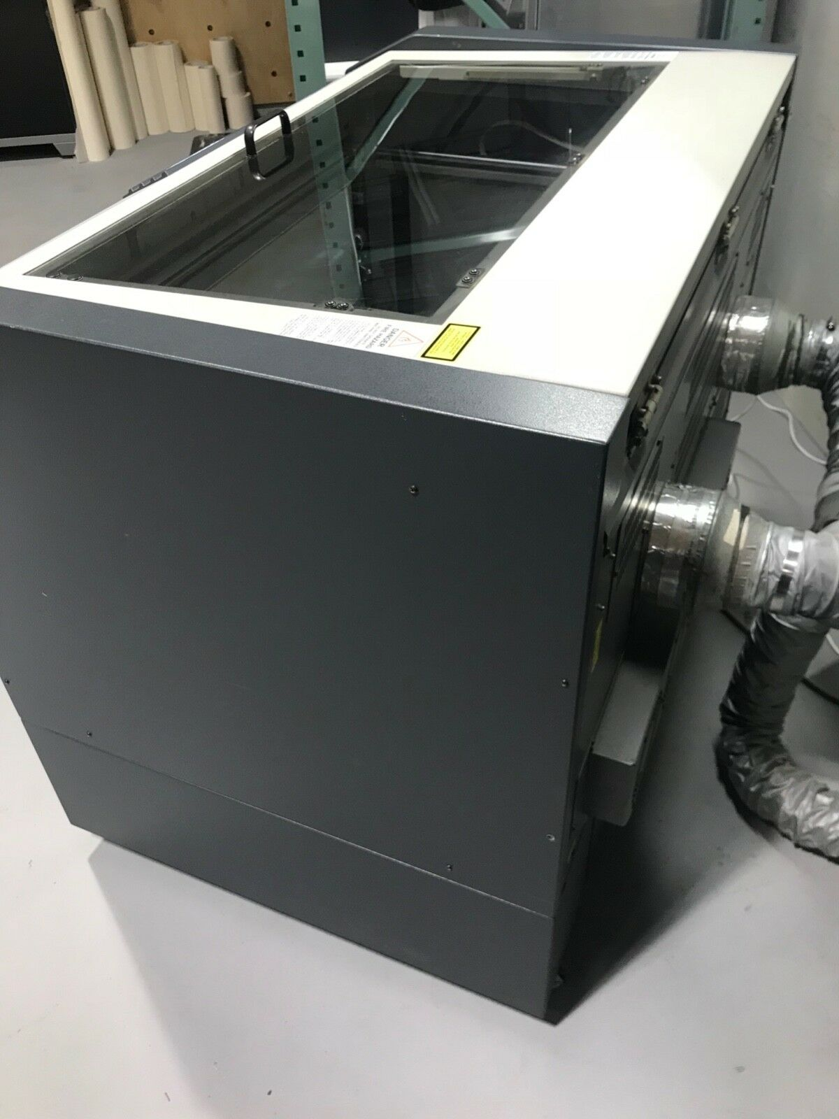 Epilog Legend 36 EXT 120 Watt Laser. Pre owned owned owned Used. One owner. Well cared for. f88e7b