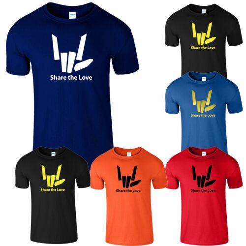 Partager l/'amour Homme T-shirt sharerghini youtuber Stephen Sharer Unisexe Tee