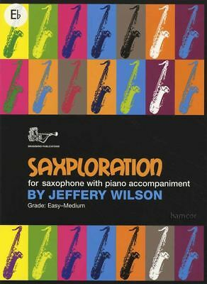Instruction Books, Cds & Video Generous Saxploration Alto Saxophone & Piano Sheet Music Book Sheet Music & Song Books