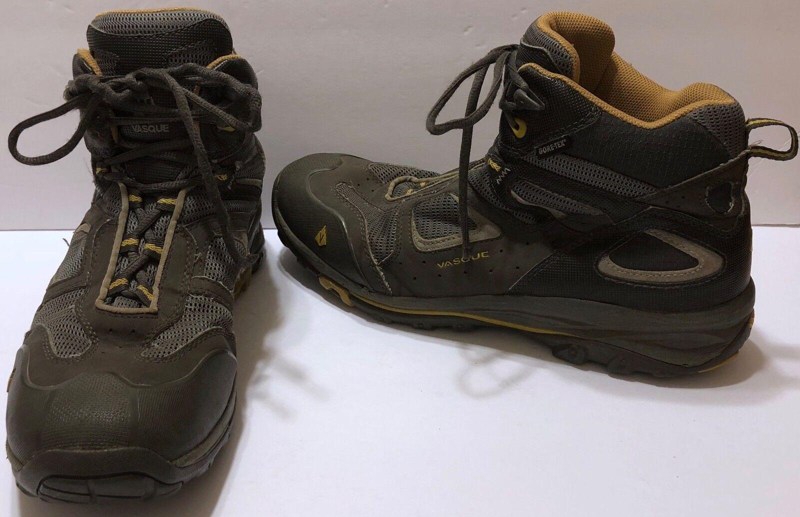 Vasque Breeze GTX Hiking Boots Soles Sz 11 M Vibram Soles Boots Gore Tex Hike Trail Dry Feet 224edc