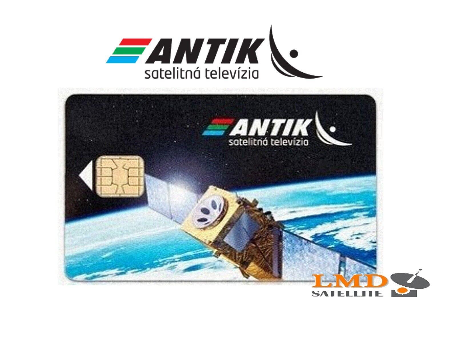 Antiksat Satellite Subscription Card Slovak And Czech Tv Channels On