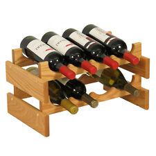 Wooden Mallet 8 Bottle Dakota Wine Rack WR42LO Wine Rack NEW