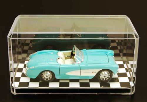 1:24 scale model car acrylic display case USA made save 25/% when buying 2nd one