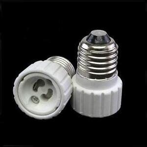 10-x-Adapter-E27-GU10-Lampenfassung-Konverter-Sockel-Lampensockel-Fassung