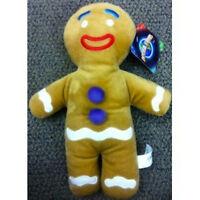 "Shrek the Third 12"" Gingerbread Man High Quality Plush Soft Stuffed Doll Toy New"