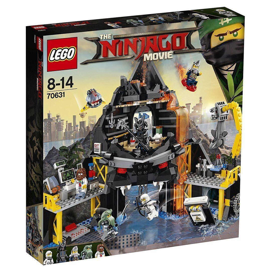 Lego 70631 - Ninjago - Guarida volcánica Garmadon - NUEVO