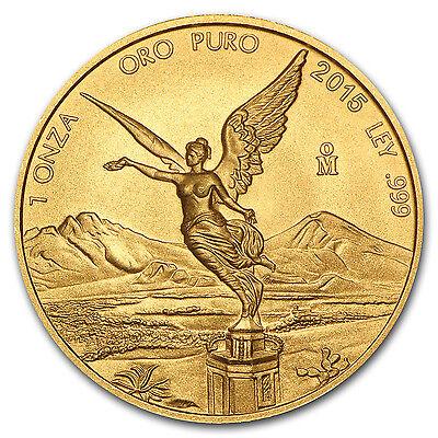 2015 Mexico 1 oz Gold Libertad Brilliant Uncirculated - SKU #87960