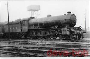 Railway Photo LNER B16 1439 Darlington Shed 1948 NER Raven Class S3 4-6-0 Loco - España - Railway Photo LNER B16 1439 Darlington Shed 1948 NER Raven Class S3 4-6-0 Loco - España