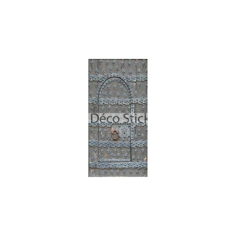 Aufkleber Schein Auge Tür aus Eisen 100x200cm Ref P099 P099