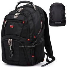 """Travel Gear Men 17"""" 15 Laptop Backpack Waterproof School Rucksack Outdoor Bag D1"""