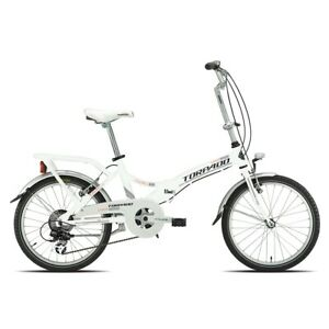Bike-Foldable-t170-Cayman-Alu-20-6v-White-19T170B-Torpado-City
