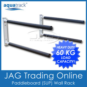 AQUATRACK SUP & SURFBOARD WALL RACK - Double Stand-up Paddle Board / Longboard