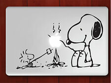 "Snoopy Apple Macbook Pro Air 13"" Mac Sticker Decal Skin Vinyl Cover For Laptop"