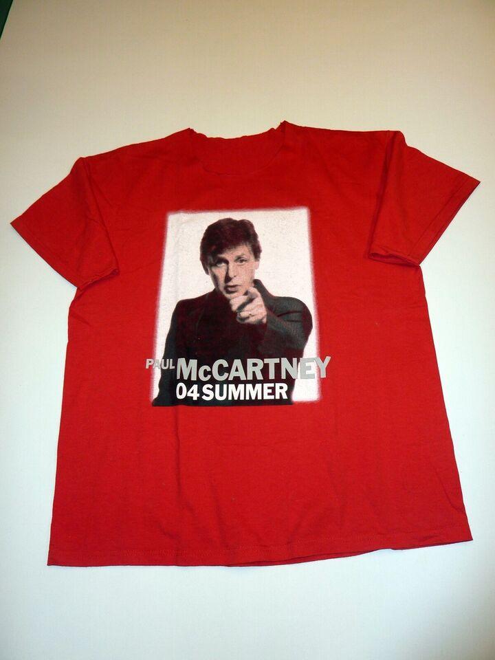 T-shirt, Paul McCartney, str. XL