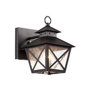 Trans Globe Lighting 40170 Bk 1 Light Wall Lantern Black For