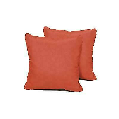 Outdoor Pillows Set Of 2.Tk Classics Square Outdoor Throw Pillows Set Of 2 Tangerine
