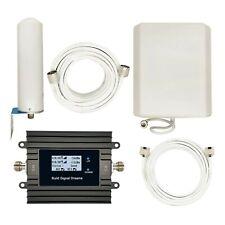ISNMDND AT/&T Cell Phone Signal Booster ATT 4G LTE Signal Booster 700mhz Band 12//17 T-mobie Cell Phone Booster Repeater Mobile Signal Booster Amplifier for Home