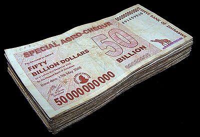 Billion Dollar Agro Cheque Banknotes