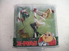 """McFarlane Twisted Christmas """"Mrs. Santa"""" Blonde in package"""
