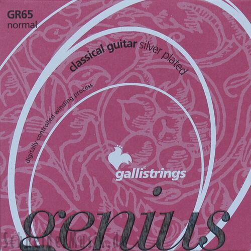 beschichtet Nylonsaiten PROcoated normal tension Galli Genius GR65