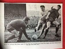 m2r ephemera 1967 football picture bristol city mike gibson gordon low ernie mac