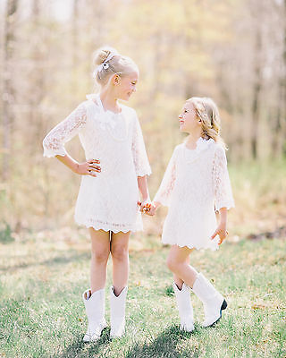 Flower girl dress,lace flower girl dress,girls lace dress,pink,white,ivory,black