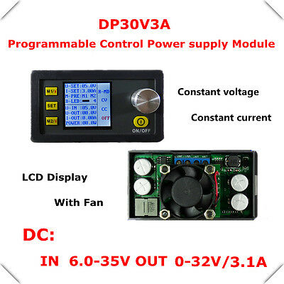 DP30V3A Constant Voltage current Step-down Digital LCD Programmable Power Supply