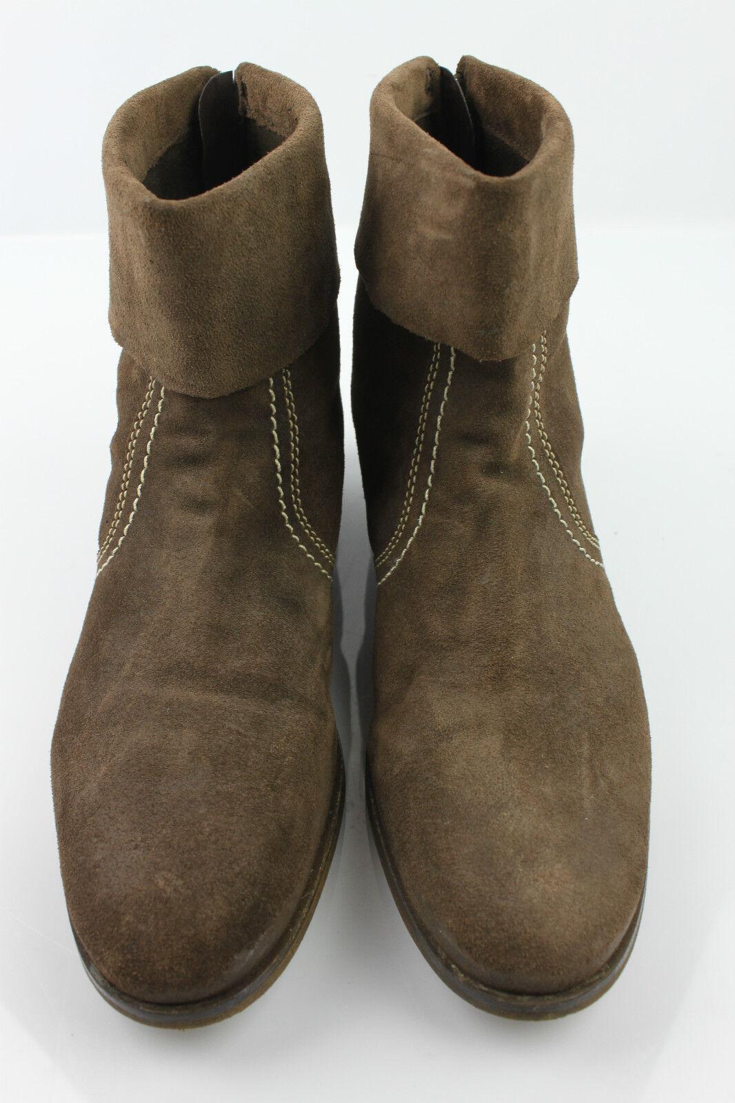 Stiefel Stiefeletten CASUAL Wildleder Taupe T 40 top Zustand     a3f792