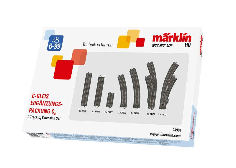 Märklin 24904 C-Complemento binario confezione c4 + + NUOVO IN SCATOLA ORIGINALE