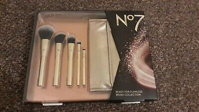 new no7 ready for flawless brush collection makeup brushes