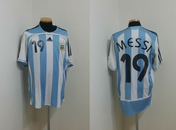 Camiseta Jersey (M) plataina Messi Barcelona España