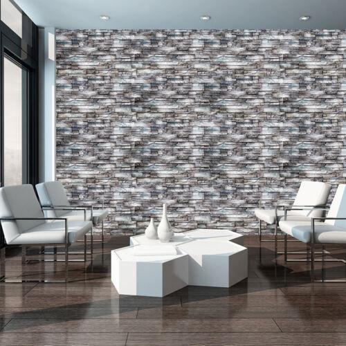 Poster la fresque papier peint papier peint mur de briques gris grès 3fx10184p8