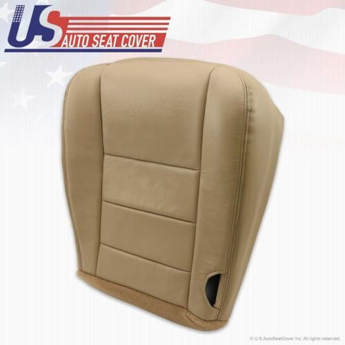 2002-2007 Ford F250 F-350 Super Duty Lariat Driver Bottom Leather Seat Cover TAN