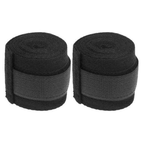 2pcs 2.5m Sports Cotton Kick Boxing Bandage Sanda MMA Wrist Hand Gloves //ND