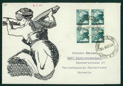 Romantisch Italien Umschlag Handgemalt !! 1962 Kunst Michelangelo Unikat !! Unique !! El67 Grade Produkte Nach QualitäT