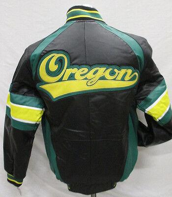 Oregon Ducks NCAA G-III Men/'s Green Full-Zip Hooded Embroidered Jacket
