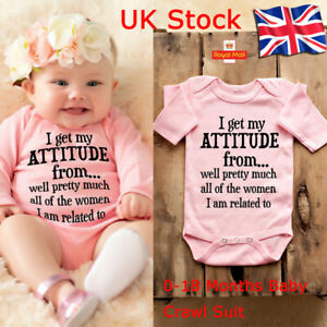 Newborn Baby Boy Girl Scrawl Letter Playsuit Romper Jumpsuit Outfits Clothes Set