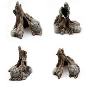 Resin-Reptile-Rock-Hide-Habitat-Cave-Hiding-Spot-Lizard-Spider-Snake-Pot-US-Q9K9
