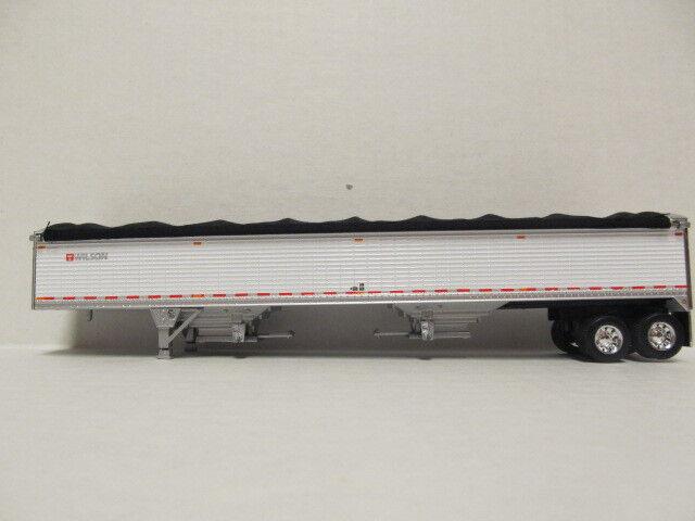 DCP 1 64 escala 50' remolque de grano grano grano Wilson blancoo (personalizado hecho en un eje tándem) e5b794