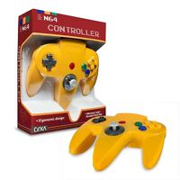 Cirka N64 Wired Controller (yellow) For Nintendo 64