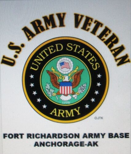 FORT POLK ARMY BASE*VERNON PARISH,LA*U.S.ARMY VETERAN W//ARMY EMBLEM*SHIRT