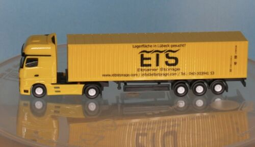 Traccia N Herpa 066778 Camion Container-autoarticolati MB ACTROS ETS