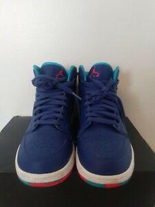 RETRO Nike AIR JORDAN 705300 433 BLUE LEATHER SHOES Boys Youth ...