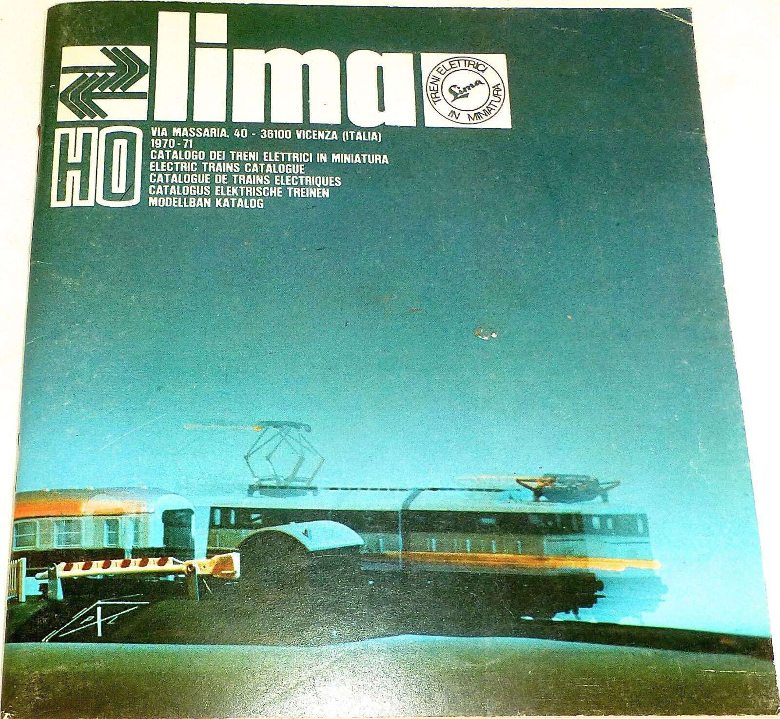 Lima Catálogo 1970 71 H0 Å