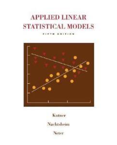 Applied linear statistical models by jackie l butler william li stock photo fandeluxe Gallery