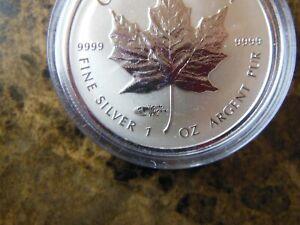 2014 Berlin World Money Fair, Canada Fine Silver Coin Maple Leaf WMF Privy Mark