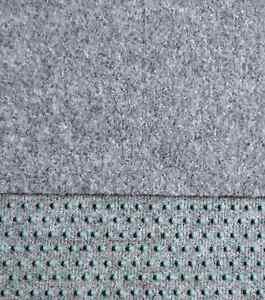 kunstrasen rasenteppich mit noppen samtweich 300 x 150cm farbe hell grau ebay. Black Bedroom Furniture Sets. Home Design Ideas