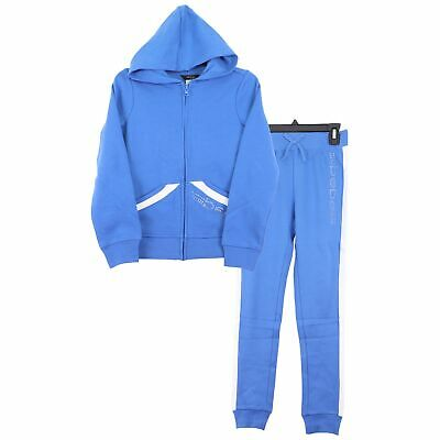 NEW Adidas Kids Girls 2 Piece Set Track Suit Pants And Full Zip Hoodie SIZES